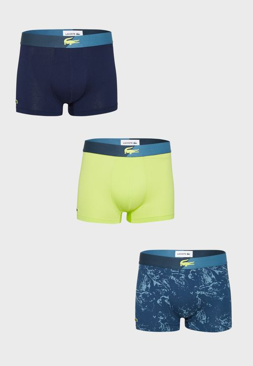 Men's 3 Pack Trunks