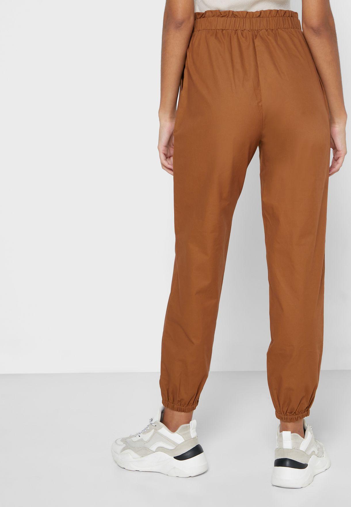 Cuffed Hem pants