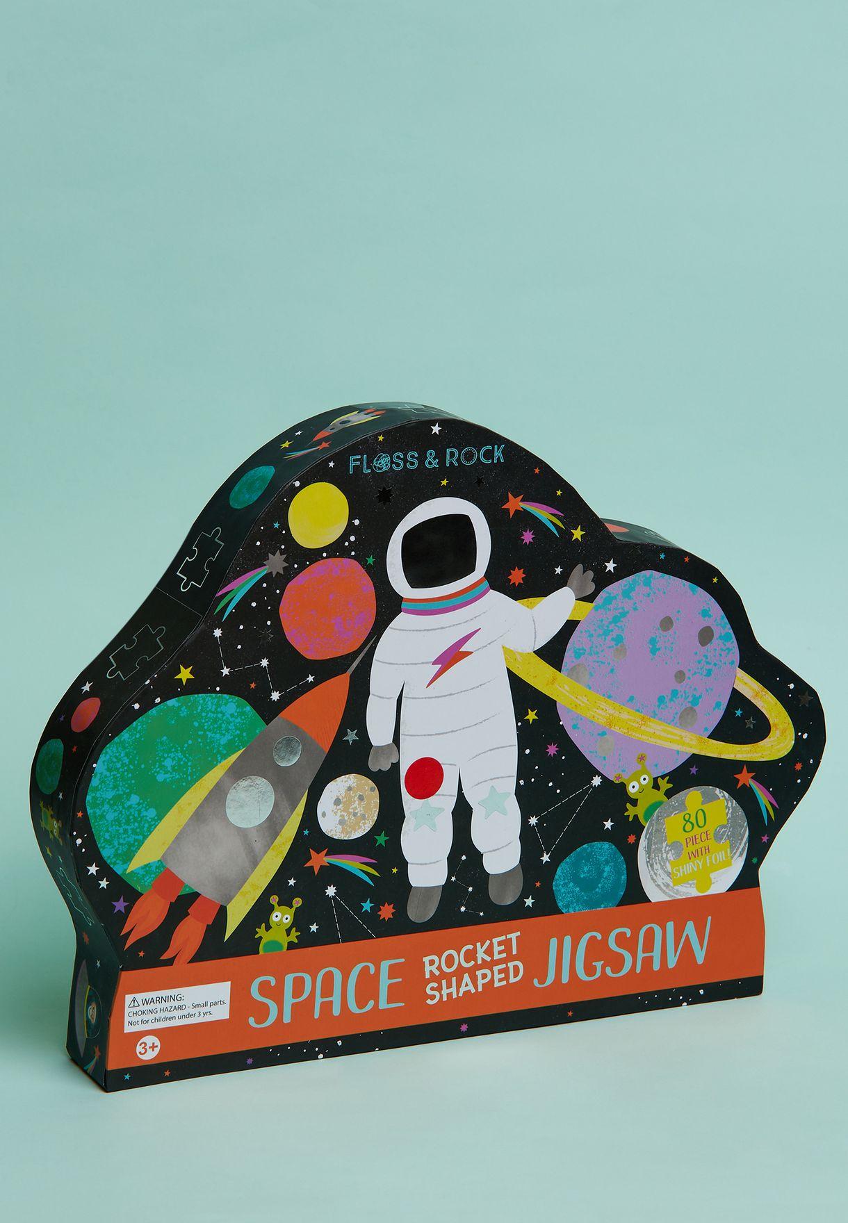80 Piece Space Rocket Jigsaw