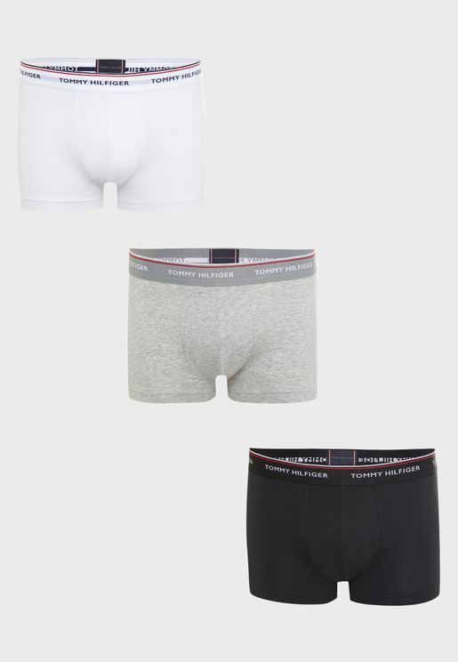 3 Pack Low Rise Boxers