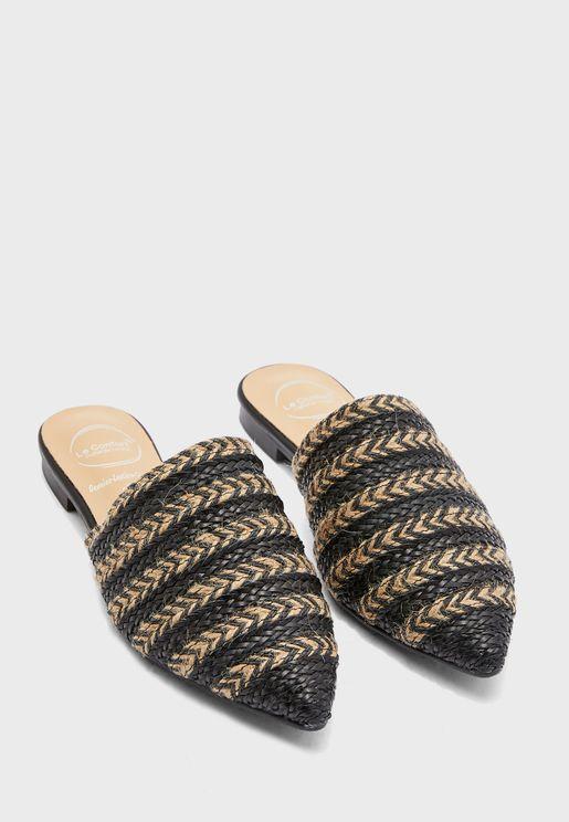 حذاء كاجوال بنمط متموج