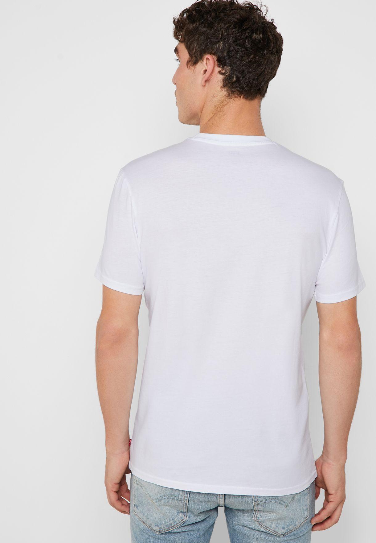 Batwing Logo Crew Neck T-Shirt