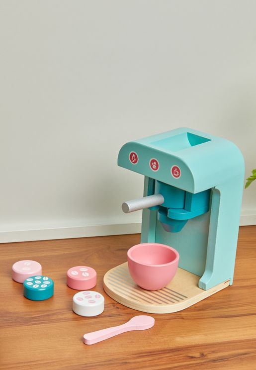 Wooden Coffee Machine Toy