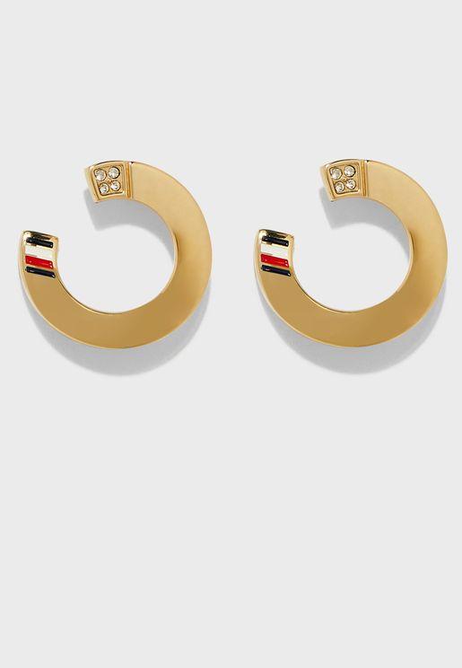 Icon Hoop Earrings