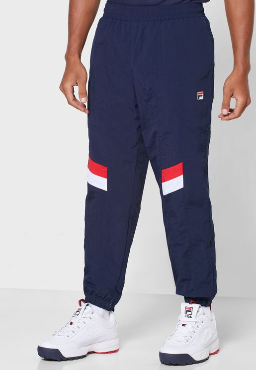 Zaim Cut Sew Panels Track Pants