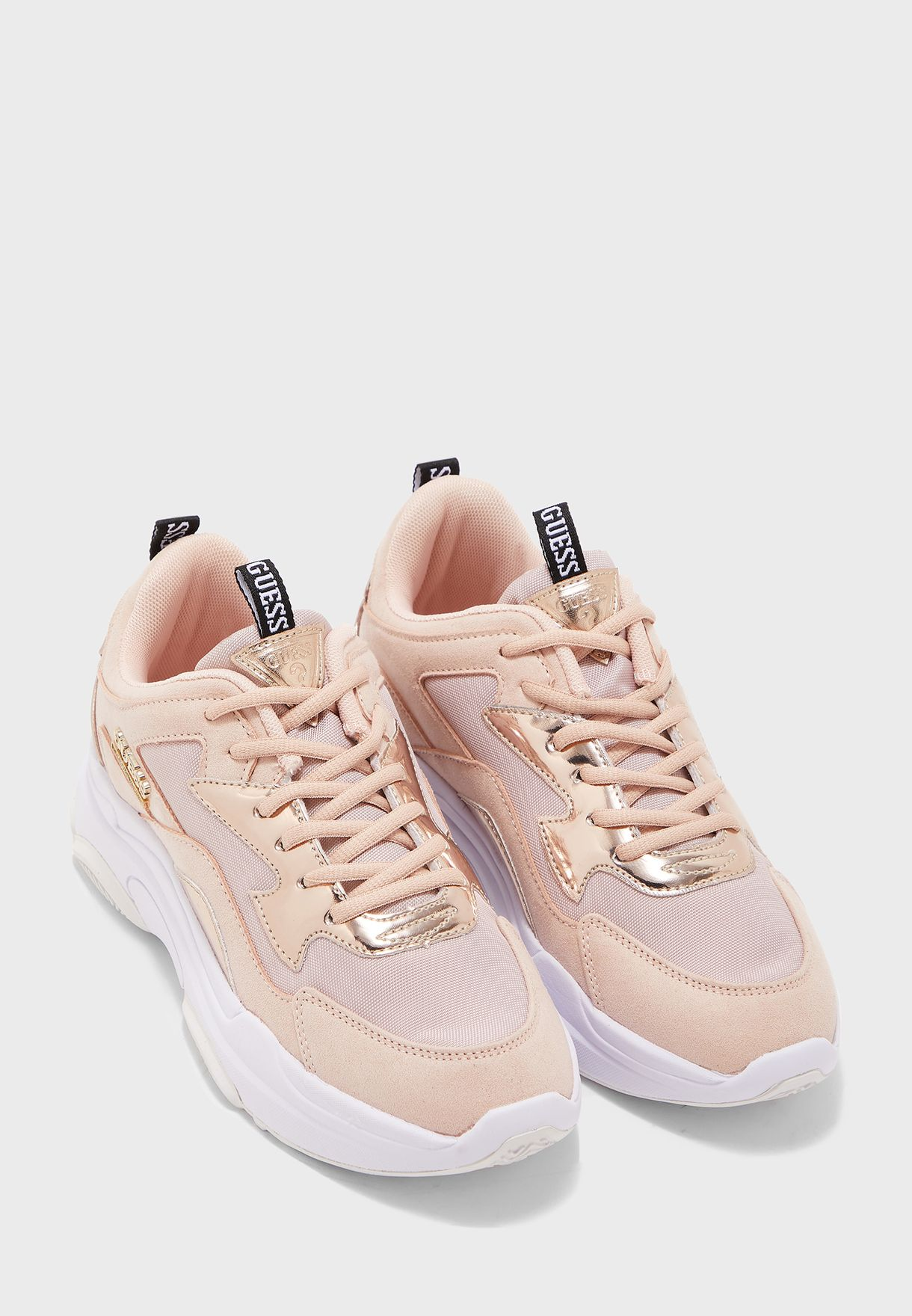Buy Guess pink Seeing Chunky Sneaker
