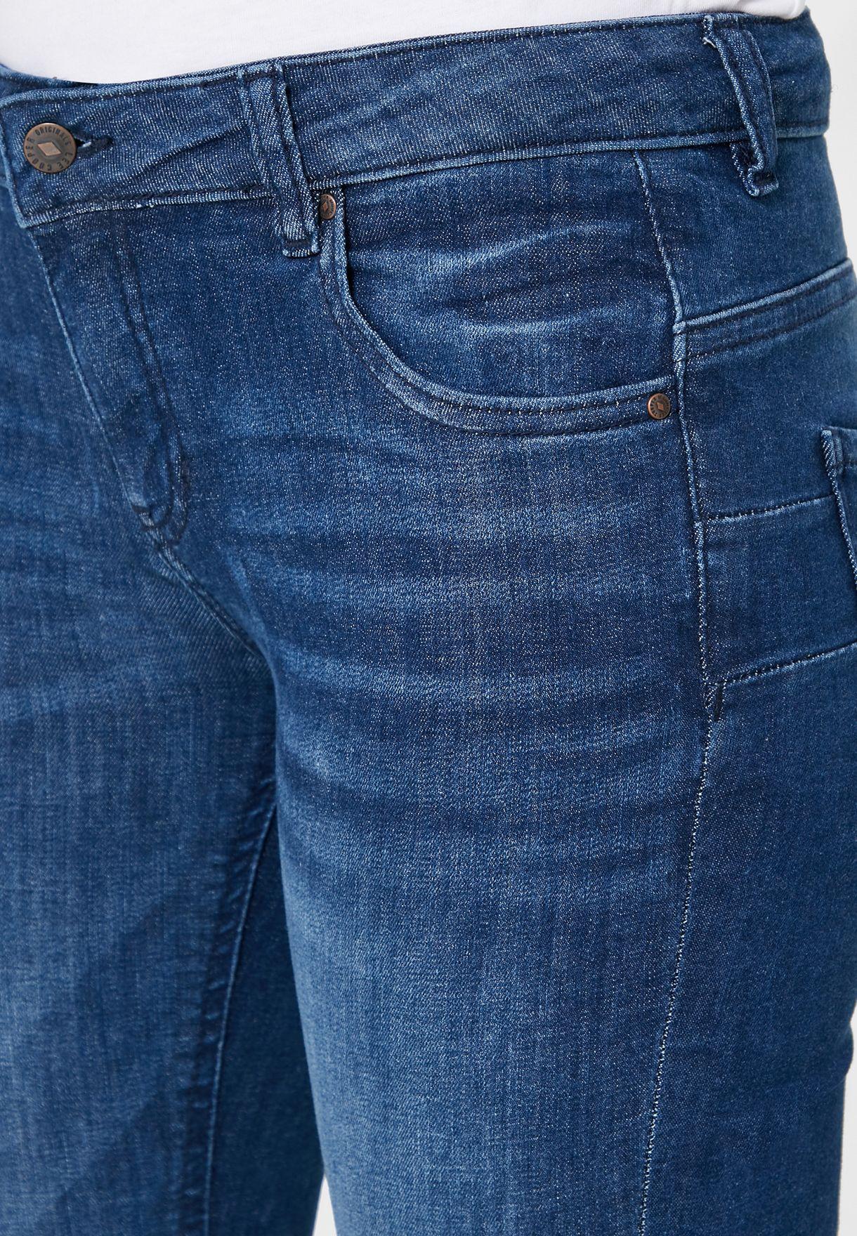 جينز ضيق