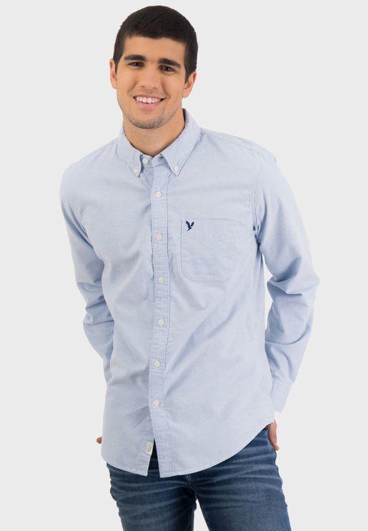 Button Down Slim Fit Shirt