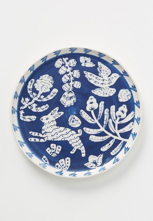 Set of 4 Pallu Side Plate