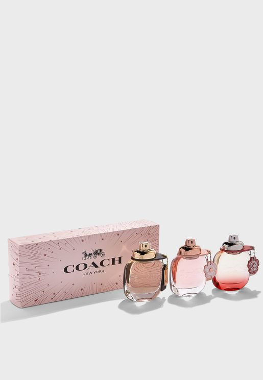 Coach Trio 50ml Set - Classic + Floral + Blush