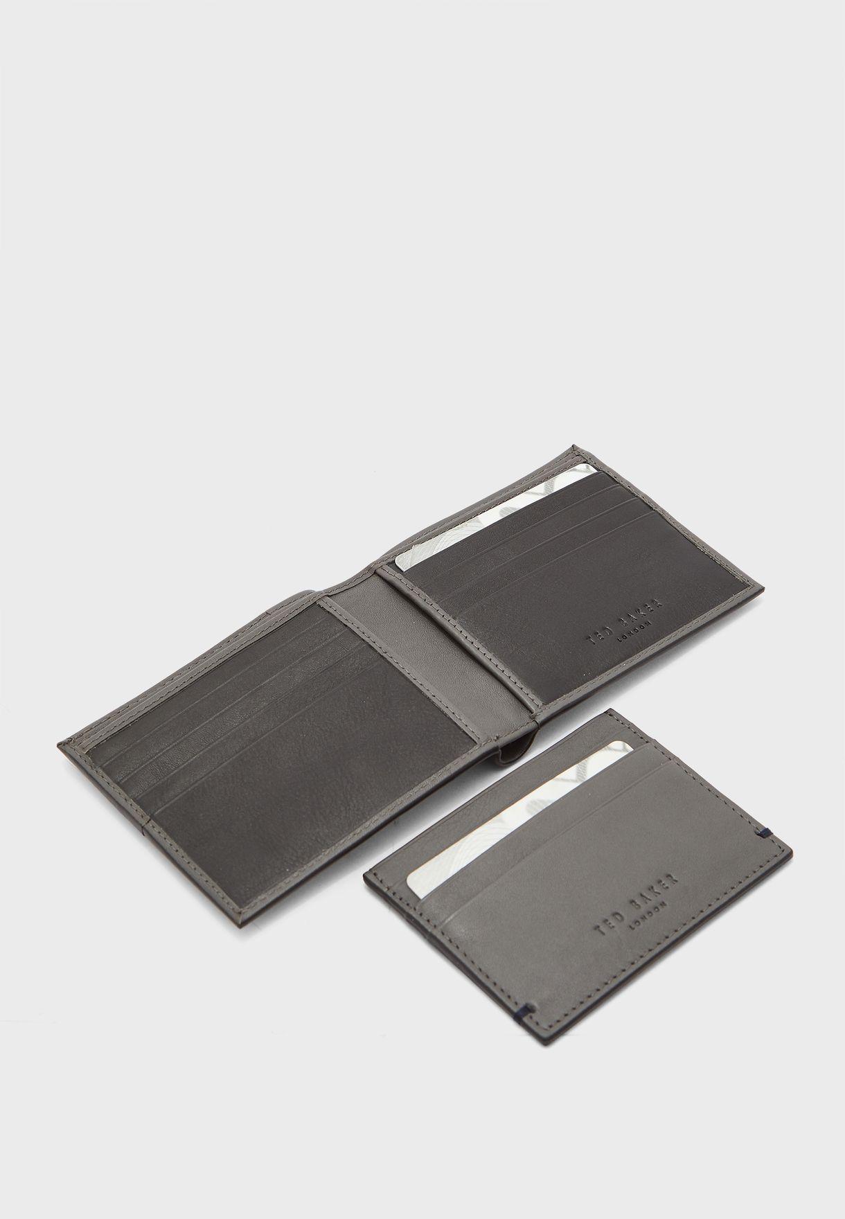 طقم هدايا محفظة  وحافظة بطاقات