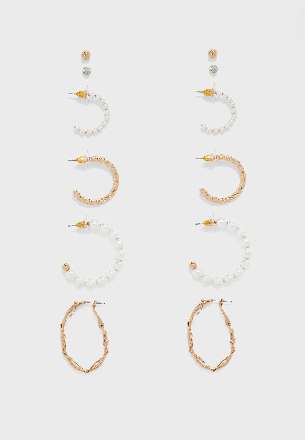 Diitri Pierced Earrings Set