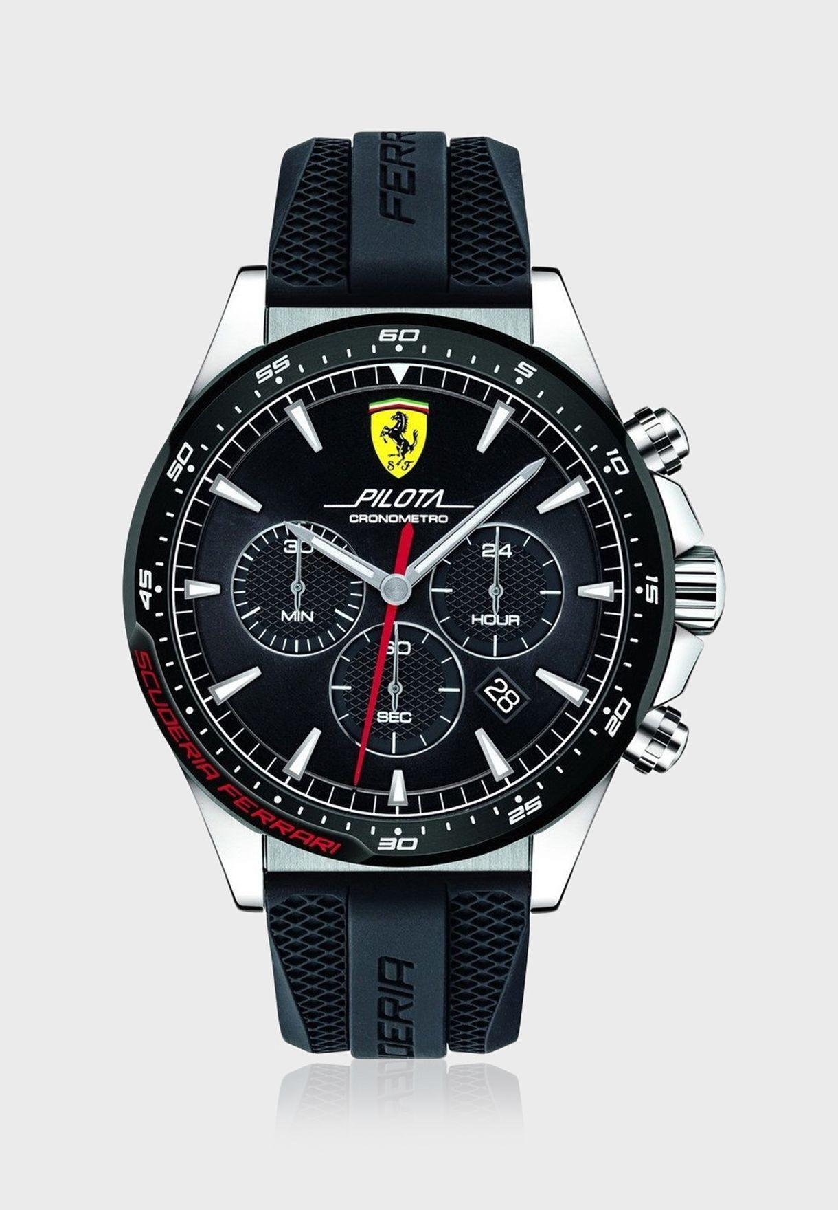 830620 Pilota Chronograph Watch