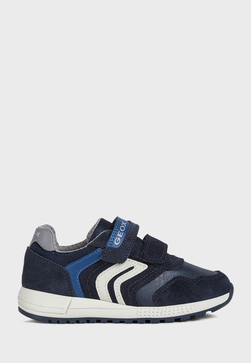 Kids Alben Velcro Low Top Sneaker