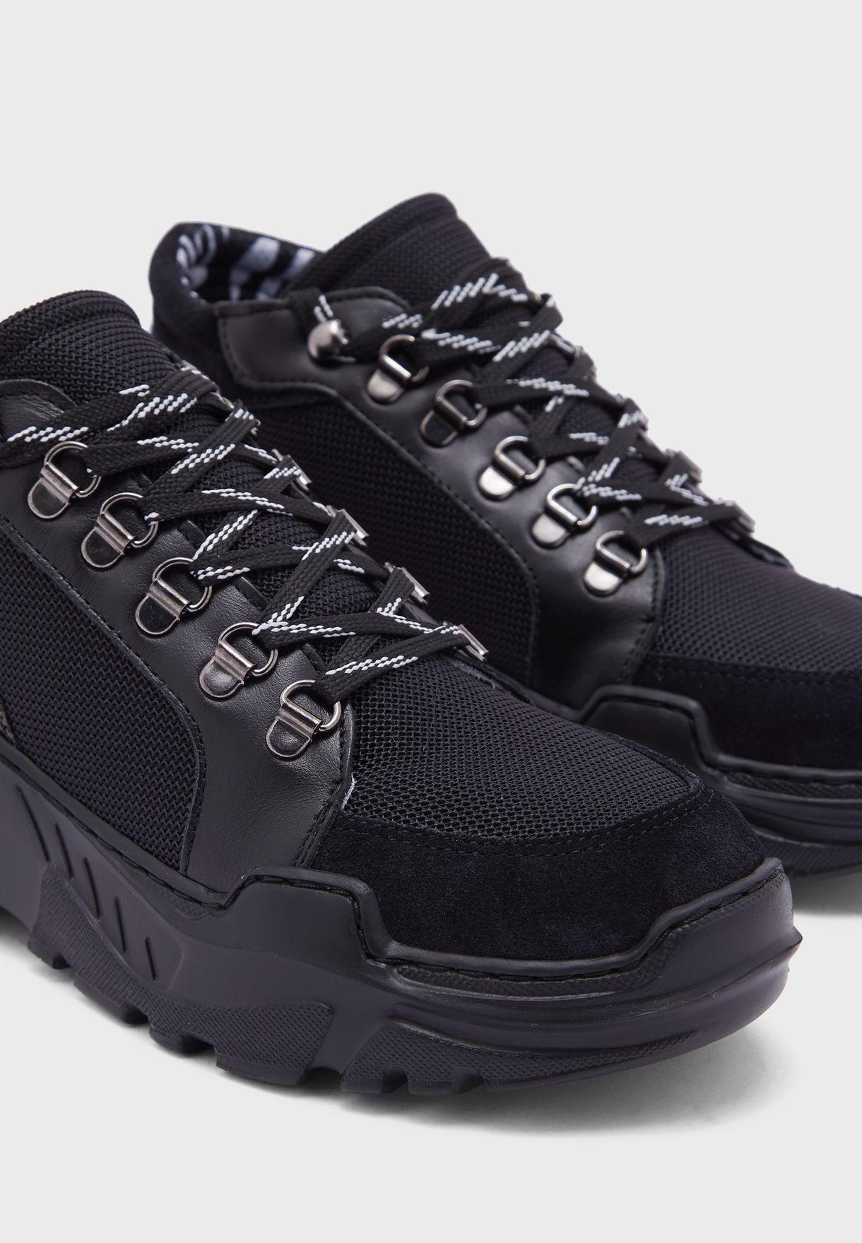 Wedge High Top Sneakers
