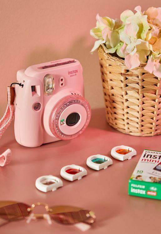 كاميرا ميني 9 انستاكس + فيلم