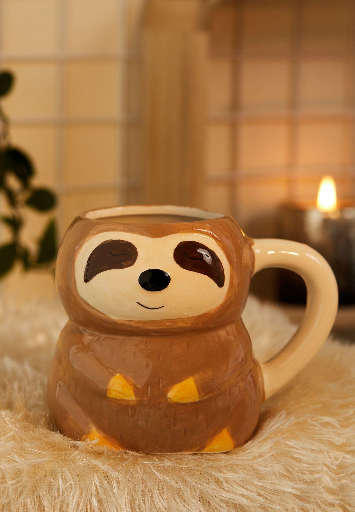 Shaped Sloth Mug