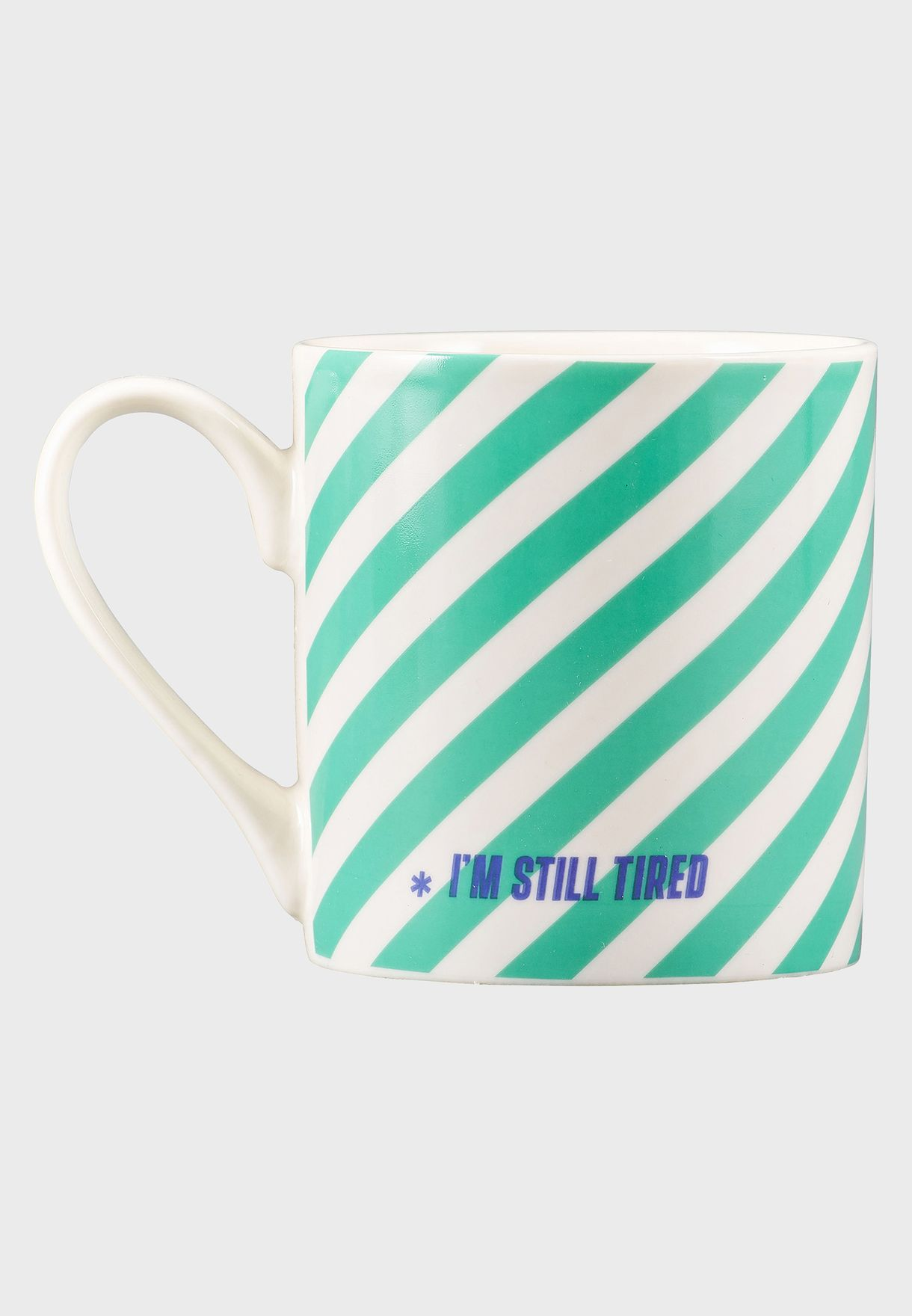 This Coffee Is Broken Striped Mug