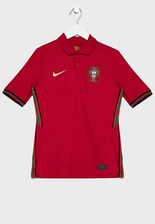 Youth Portugal Stadium Home Jersey
