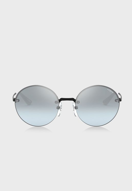0VO4157S Round Sunglasses