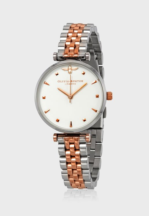 Queen Bee Analog Watch