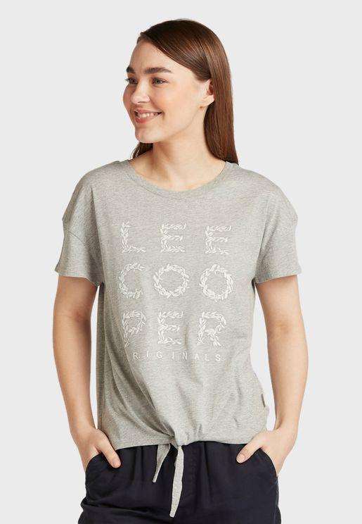 Front Tie T-Shirt