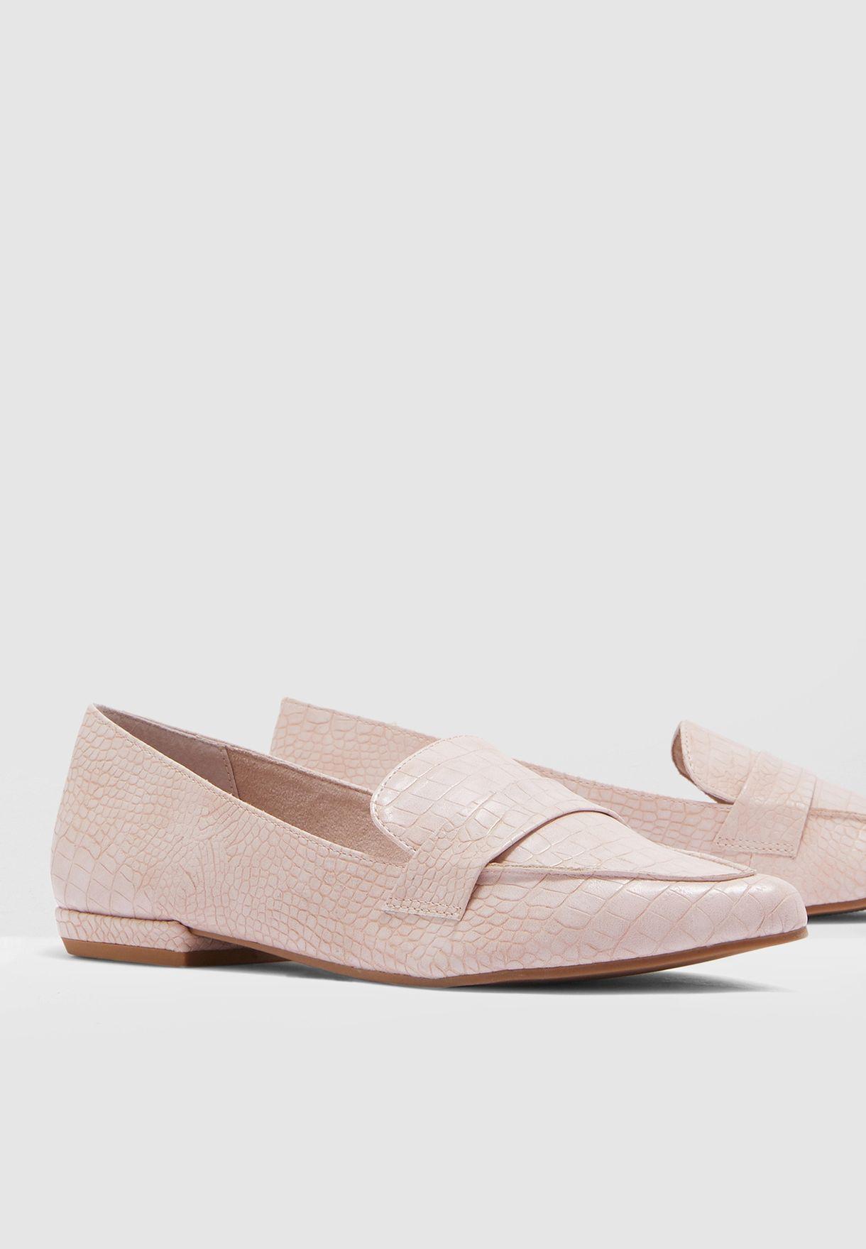 Carver Moccasin - Pink
