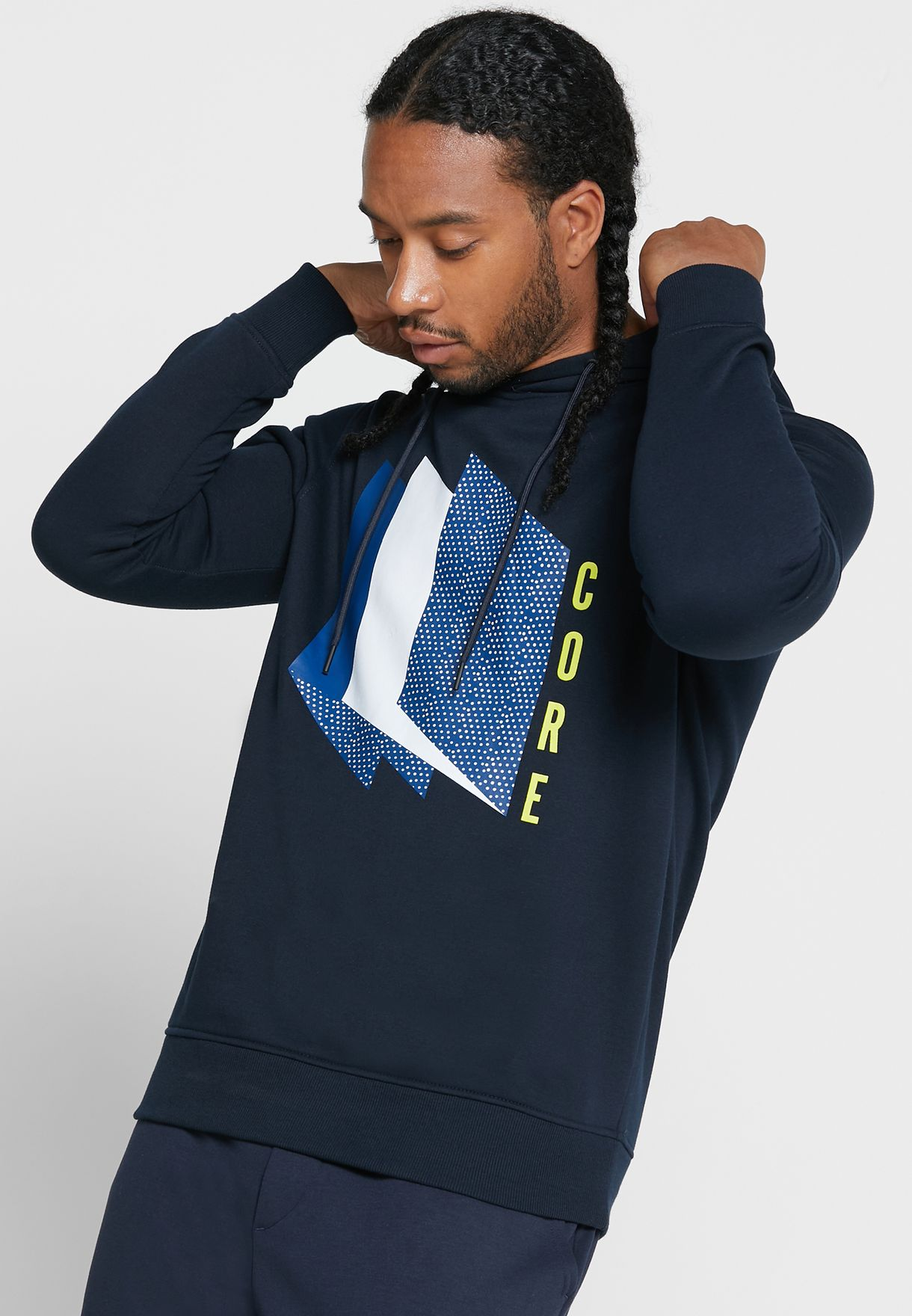 Booster Graphic Hoodie