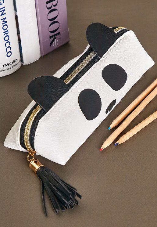 Panda Face Pencil Case