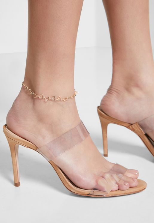 Heart Chain Anklet