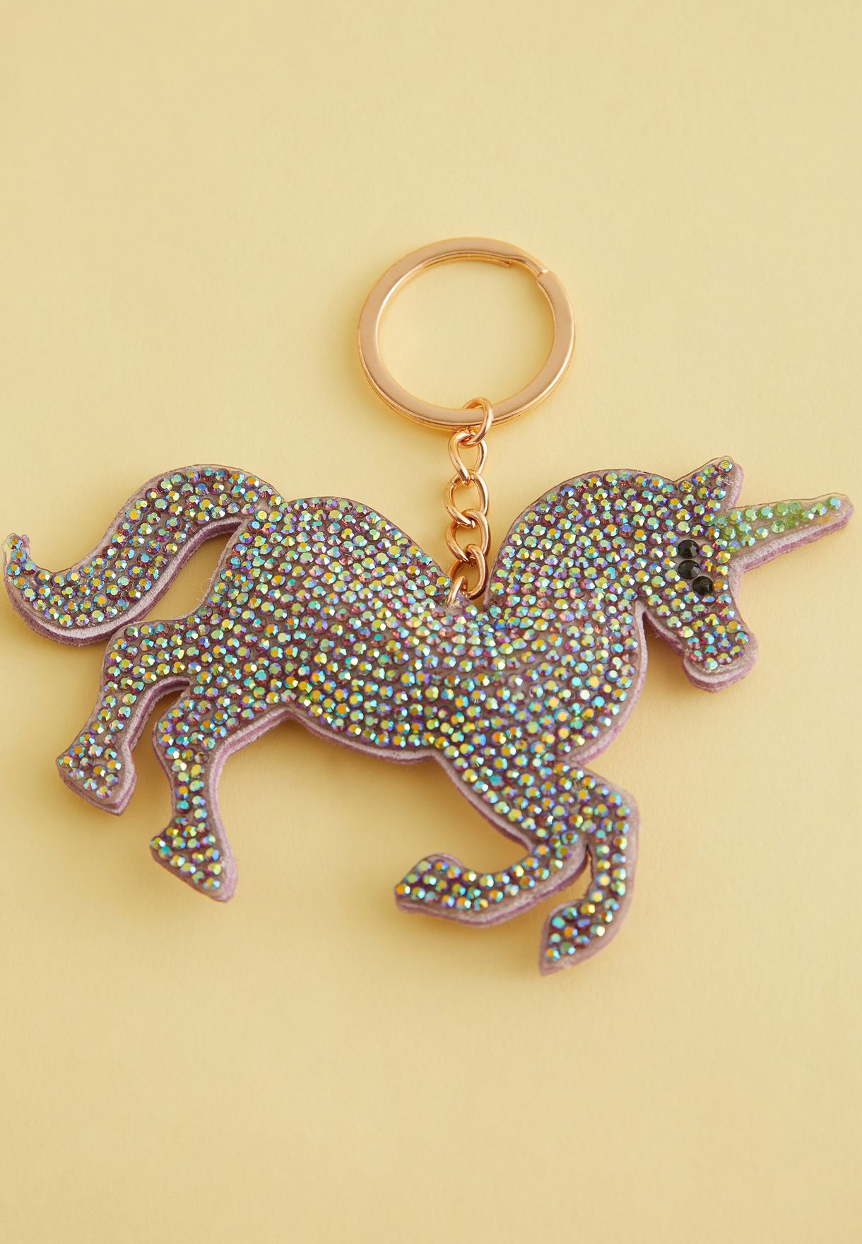 Diamente Unicorn Keyring