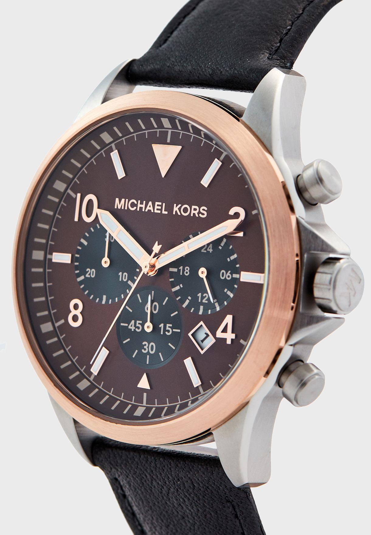MK8786 Analog Watch