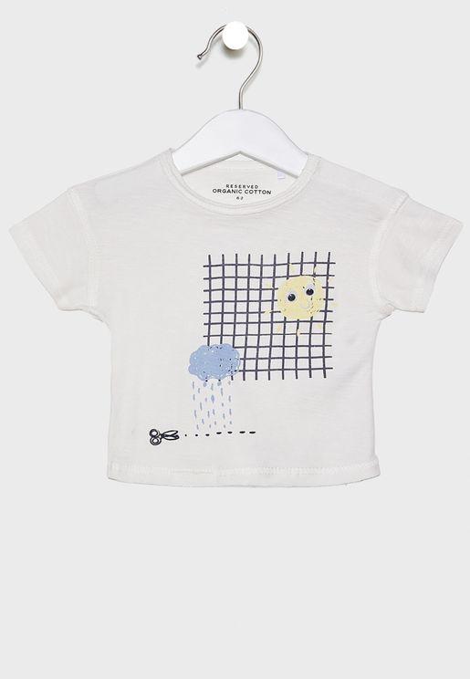 Infant 3D Applique T-Shirt