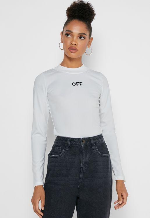 Slogan Long Sleeve T-Shirt