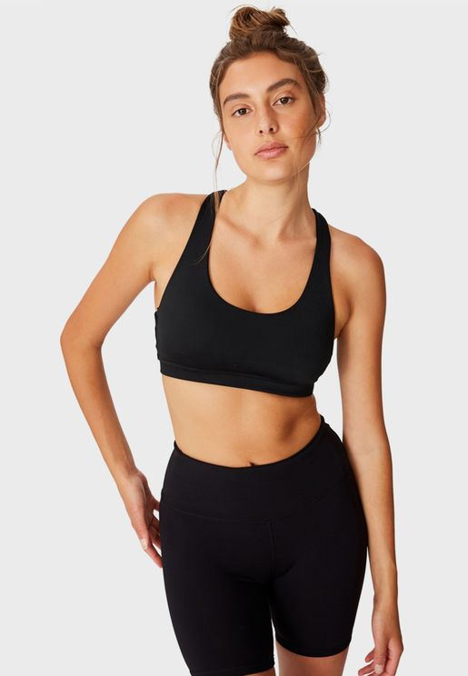 Strappy Sports Crop Top