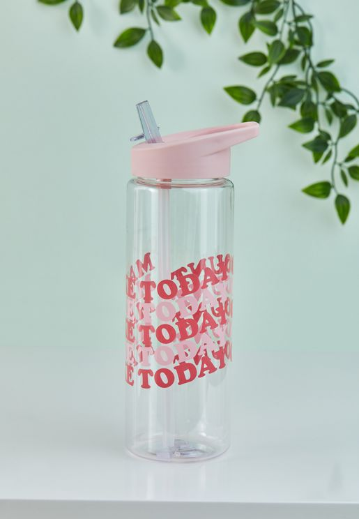 Make Today Count Water Bottle