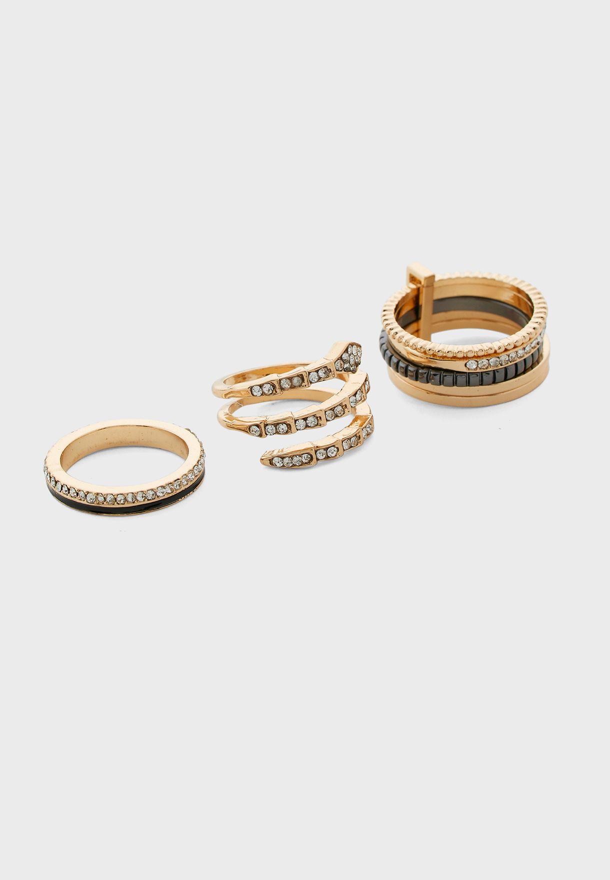 Acoindra Rings Set