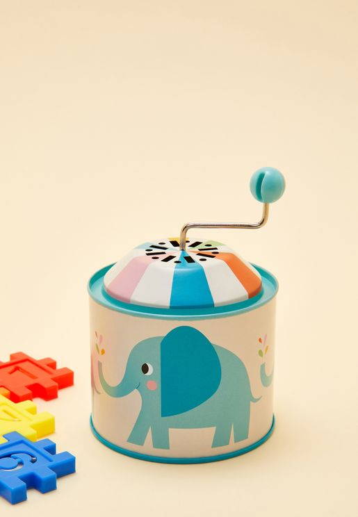 Elvis The Elephant Musical Box