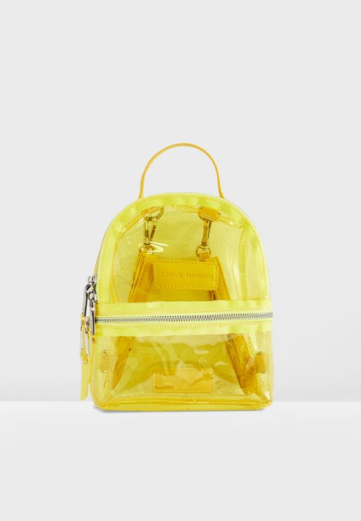 Bbenny Transparent Backpack