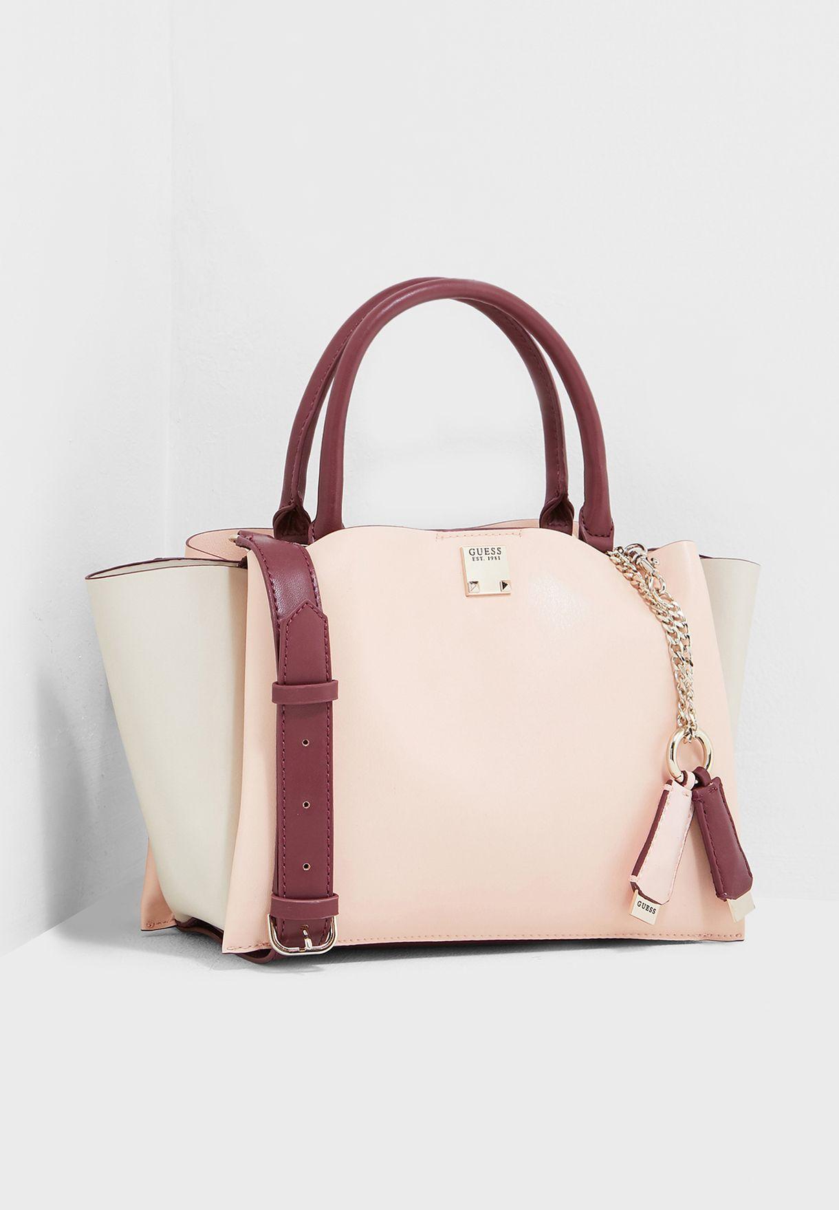 Shop Guess beige Lenia Girlfriend Satchel VG729206MCA for Women in Qatar -  10064AC11BSP 5f3fdd3bc8b09