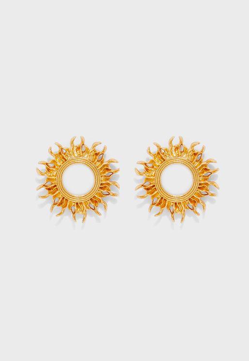 Sun Stud Earrings