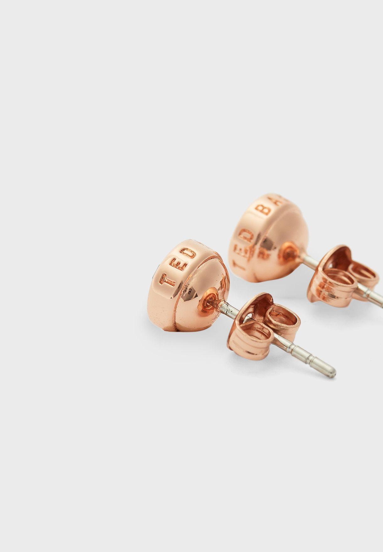 Sinaa Crystal Stud Earrings