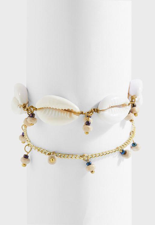 Lola Shell Bracelet