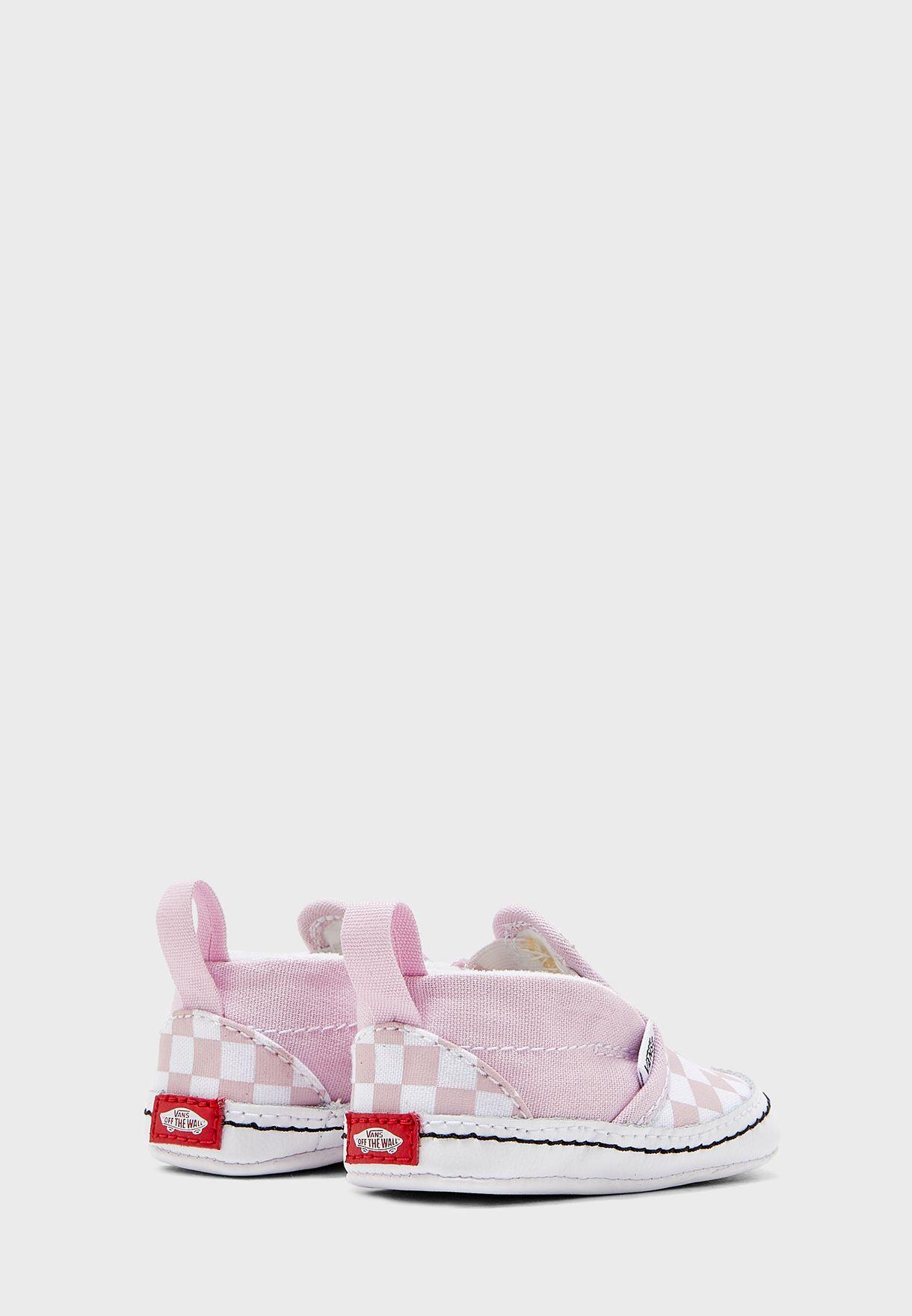 Infant Checkerboard Slip Ons V Crib