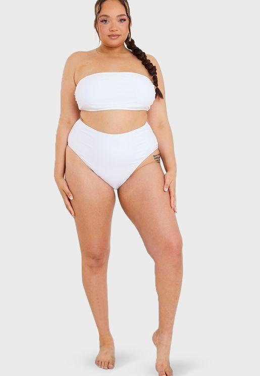 High Leg High Waist Bikini Bottom