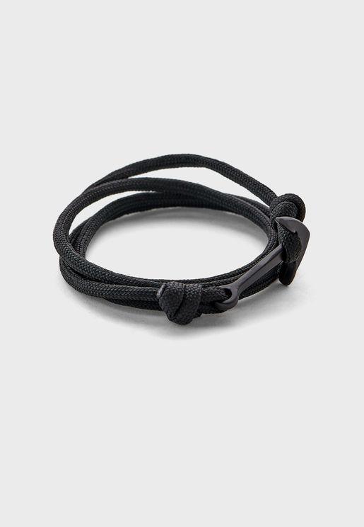 Anchor Wrap Around Bracelet