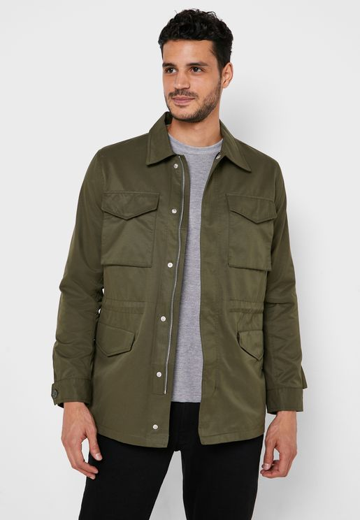 Safari Pocket Detail Jacket