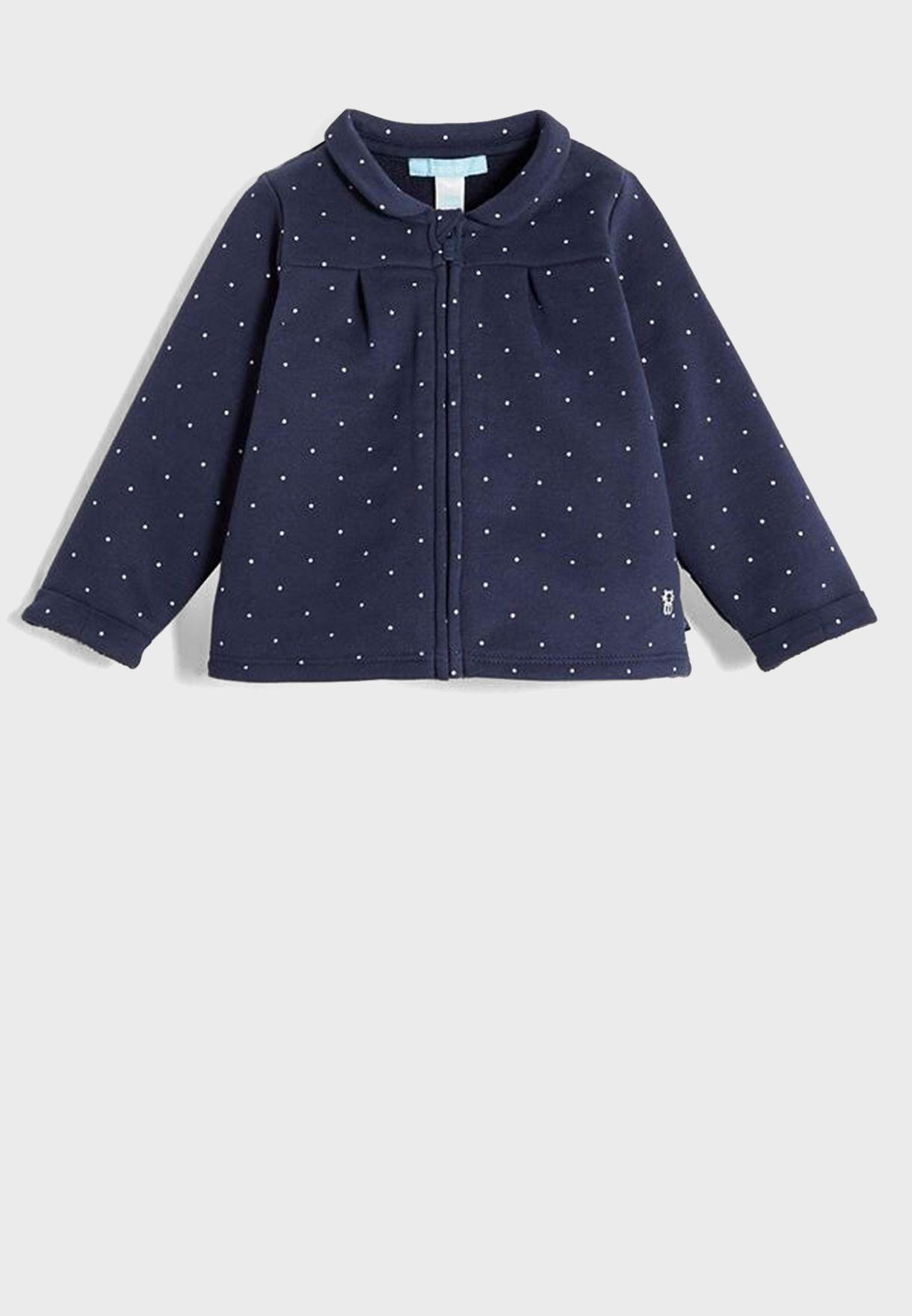 Infant Polka Dotted Sweatshirt