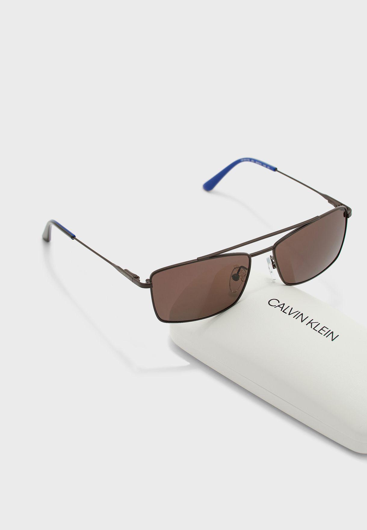 Ck18117S Square Sunglasses