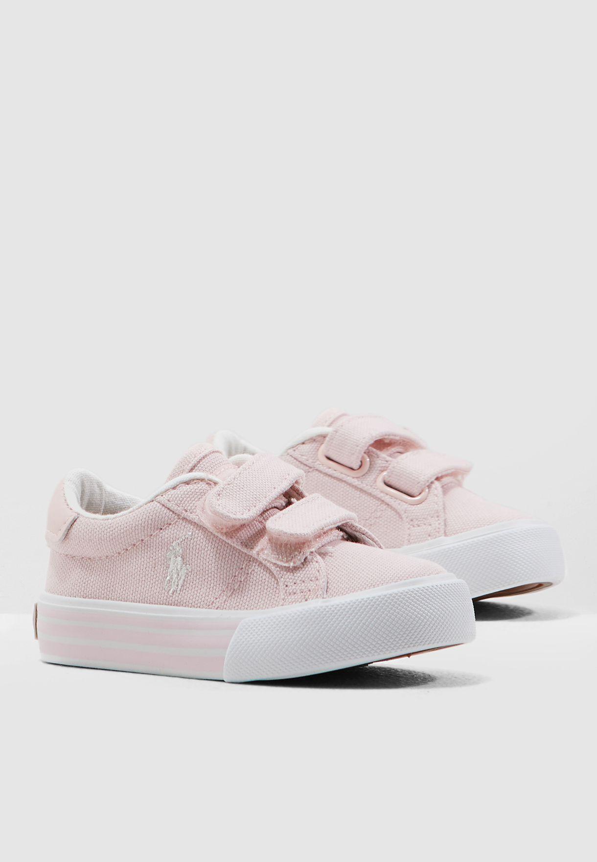 a2b6e2c47 Shop Polo Ralph Lauren pink Infant Edgewood Ez Sneaker RF101562 for ...